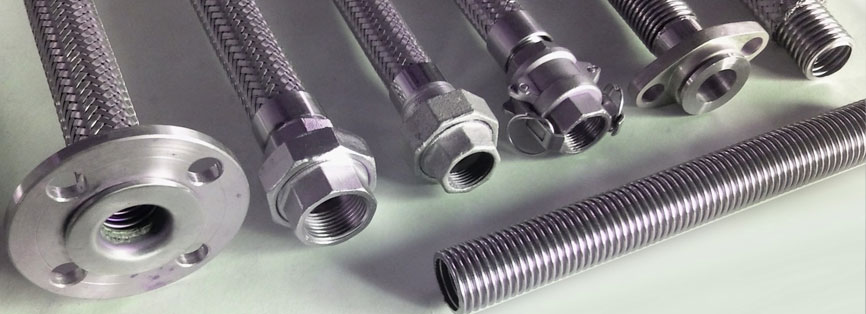 Stainless Steel Flexible Tubing, Flexible Hoses, Stainless Steel Braid Suppliers in Mumbai, India