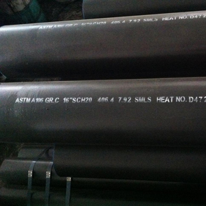 ANSI B36.10 Carbon Steel Pipe, A106 Gr C, 16 Inch Suppliers India