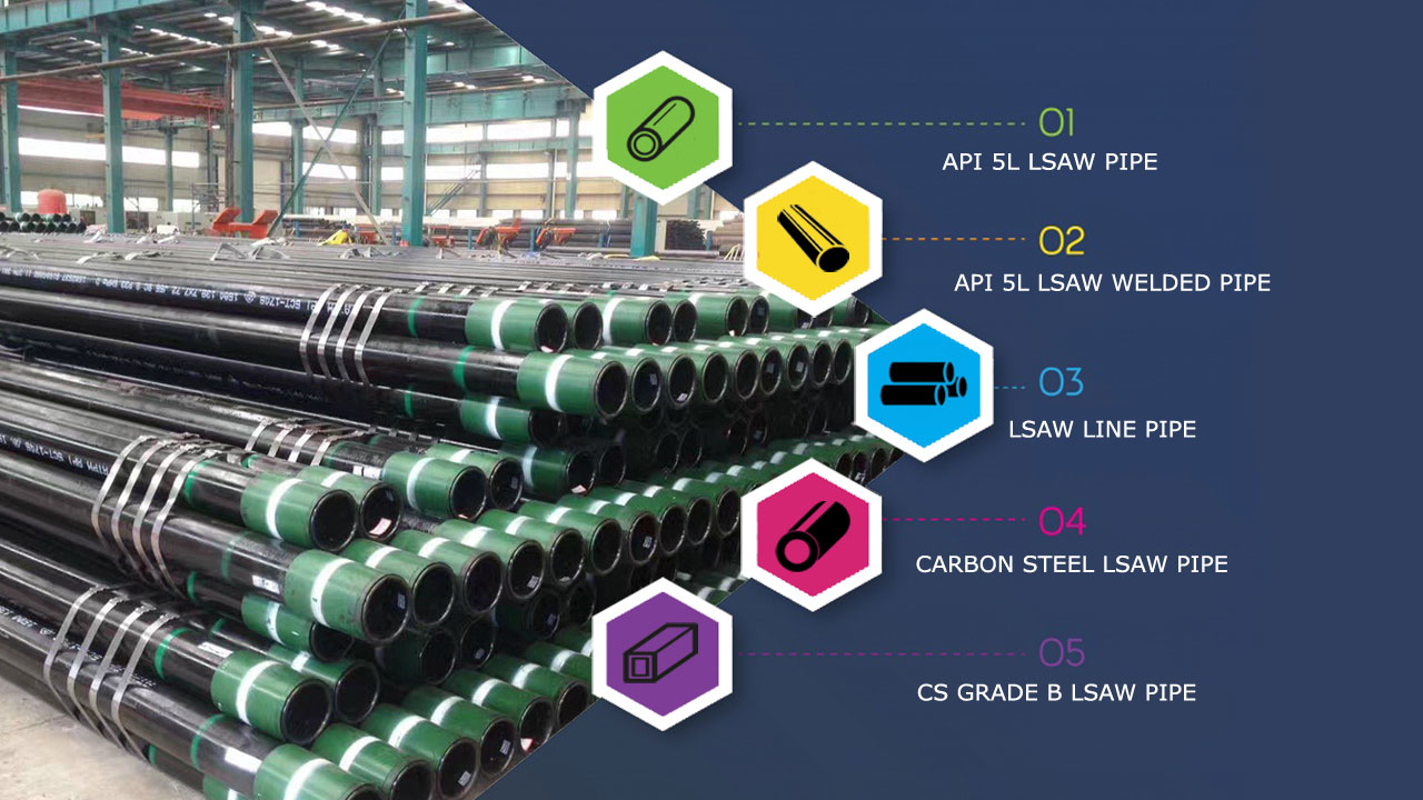 API 5L LSAW Pipe Suppliers