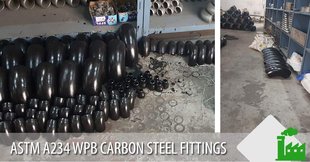 ASTM A234 WPB Carbon Steel fittings manufacturer