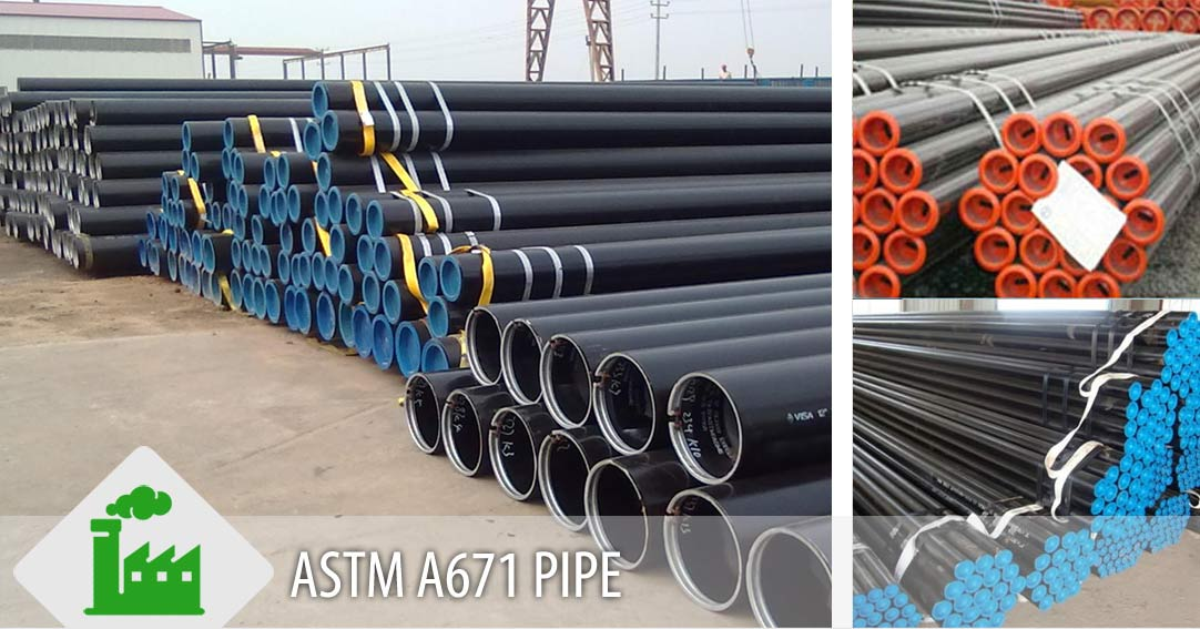 ASTM A671 Pipe Supplier in India