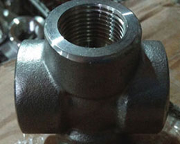 Steel Low Carbon Cross Fitting