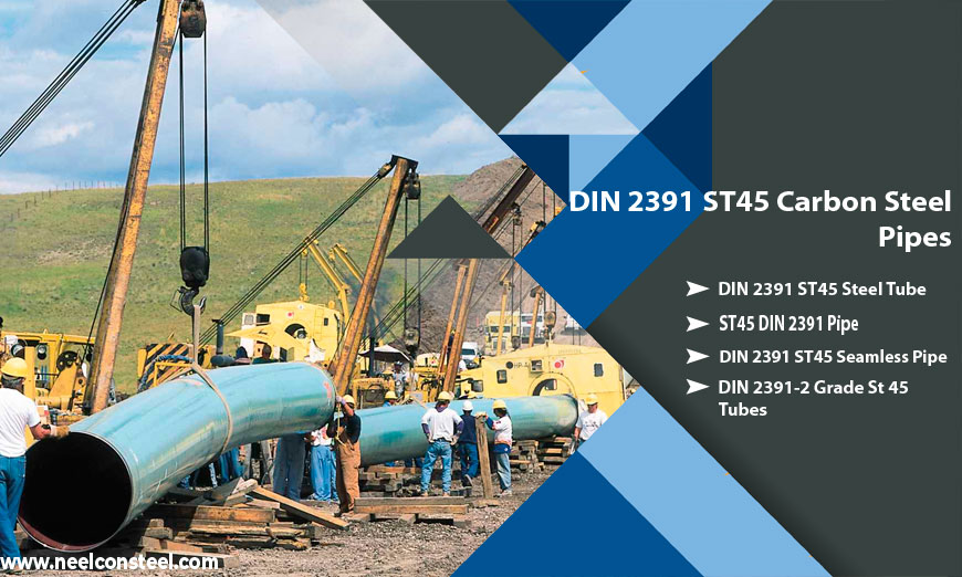 DIN 2391 ST45 Carbon Steel Pipe