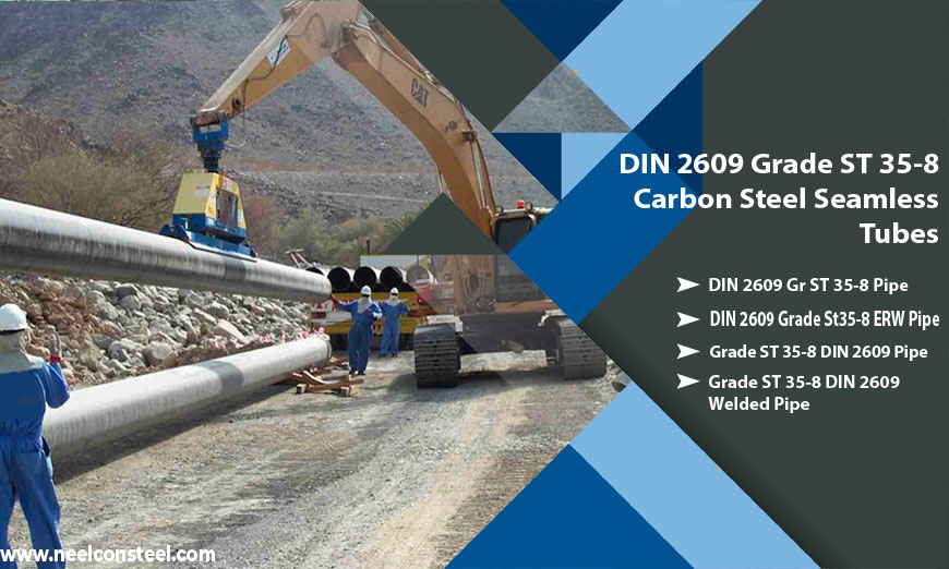 DIN 2609 Grade ST 35-8 Carbon Steel Seamless Tubes