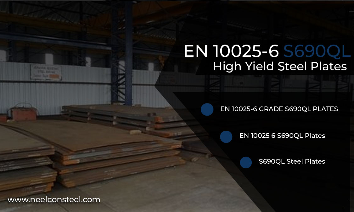 EN 10025-6 S690QL High Yield Steel Plates