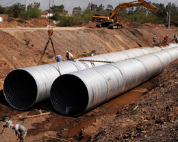 DIN Grade 2609 15Mo3 Steel EFW Pipe