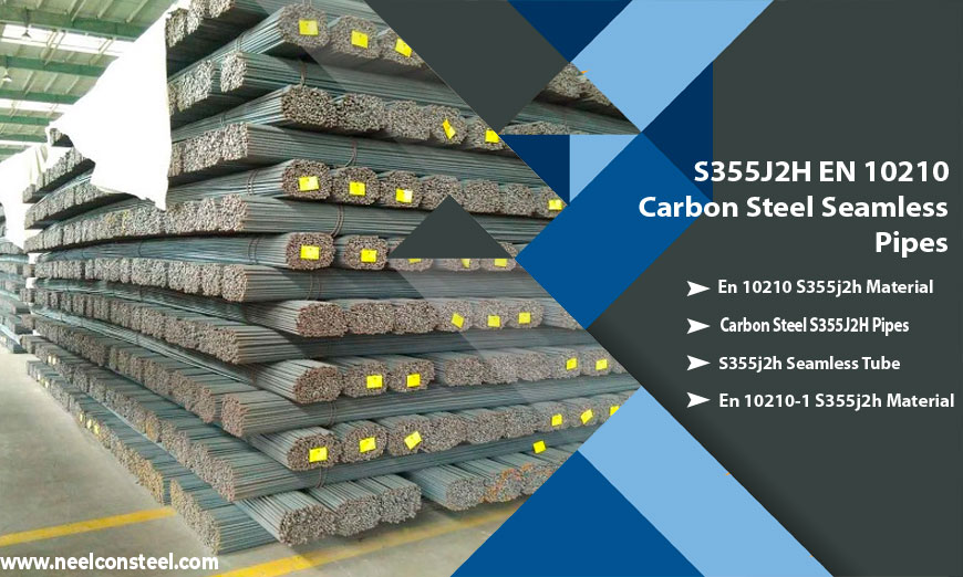 S355J2H EN 10210 Carbon Steel Seamless Pipes
